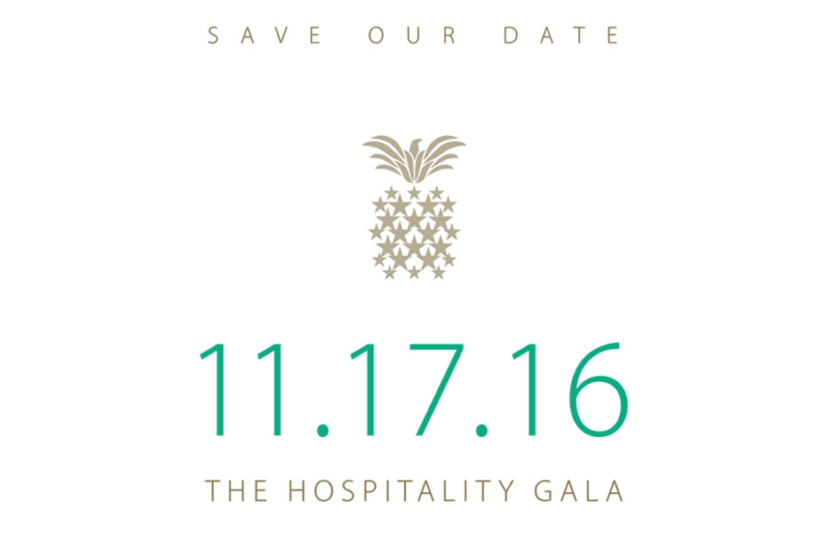 2016 Hospitality Gala Save the Date Card